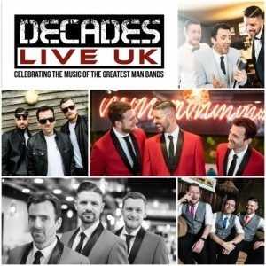 DECADES LIVE UK  - Male Singer