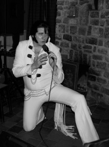 James Burrell as Elvis Presley image