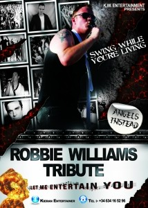 Robbie Williams Tribute - Robbie Williams Tribute Act