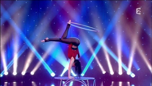 Hula hoop with handballance  + Aerial Net  - Aerialist / Acrobat