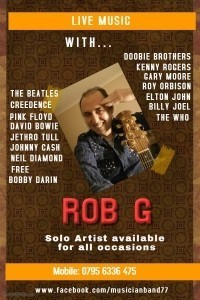 Rob G - One Man Band