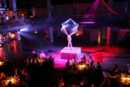 Aerial Acrobatic Rope, Oscilation Cube, cristal contact. - Aerialist / Acrobat