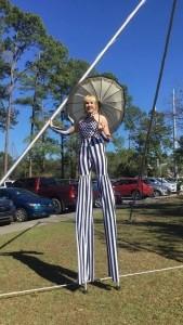 Aerialist Juggler Stilt-Walker - Circus Performer