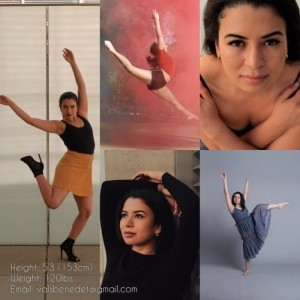 Valeria Benedetto - Female Dancer