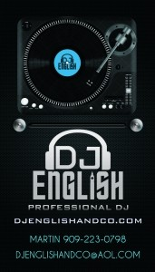 DJ English - Nightclub DJ