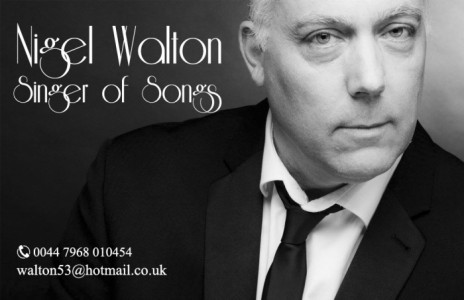 Nigel Walton - Male Singer
