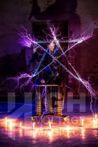 High voltage magic image