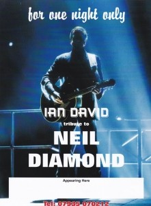 ian david - Neil Diamond Tribute Act