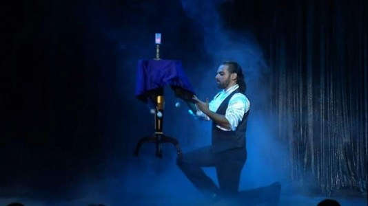 Over the Illusion - Stage Illusionist