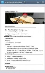 Hisham gamal eldin - Other Instrumentalist