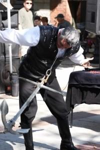 BRAD BYERS - Sword Swallower