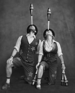 Wren and Della - Juggler