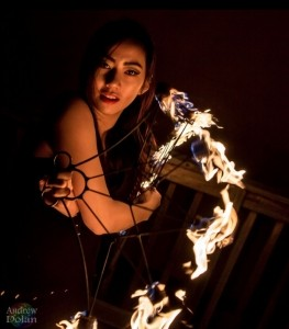 Leen illusions - Fire Performer