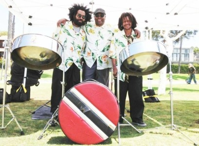 Island Rhythms Production, Steel Drum & Reggae Bands, Fire Limbo Dancers image