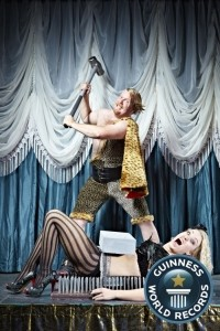 the great gordo gamsby - Sword Swallower