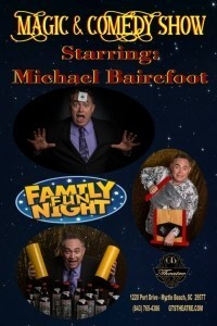 Comedy Magician Michael Bairefoot - Comedy Cabaret Magician