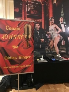 Johnny The Oldies Singer - Male Singer