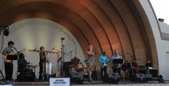 Mari Nobre's Latin Jazz Band image