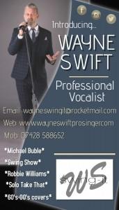 Wayne Swift - Male Singer