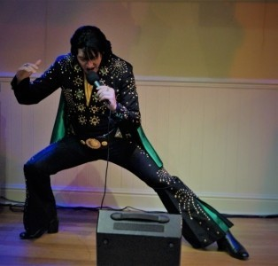 James Burrell as Elvis Presley - Elvis Tribute Act
