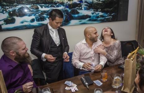 World Class Close-up Magic by Billionaires Magician Dan Chan Master Magician - Wedding Magician
