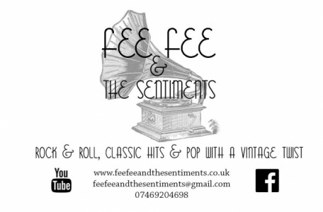 Fee Fee and The Sentiments  - Function / Party Band