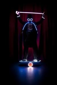 Light Juggling - Juggler