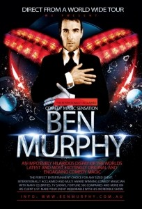 Ben Murphy - The #1 Internationally acclaimed comedy, magic, illusions and escapes image