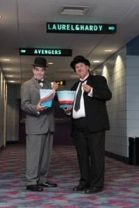 Laurel & Hardy Lookalikes with magic image