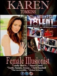 Karen Tomkins - Stage Illusionist