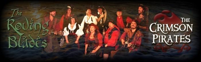 The Roving Blades/The Crimson Pirates - Irish Band