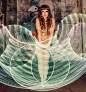 charlotte Ellen Blake  - Hula Hoop Performer