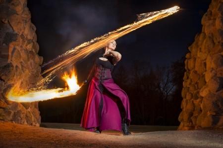 Krista Palm - Fire Performer