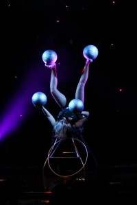 Kateryna - Foot juggling image