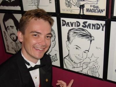 DAVID SANDY - Comedy Cabaret Magician