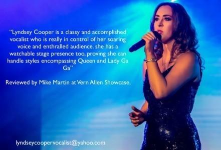 Lyndsey Cooper - Female Singer