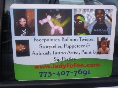 Lady Fefee - Balloon Modeller