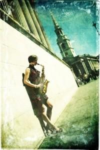 Charis Smith - Saxophonist