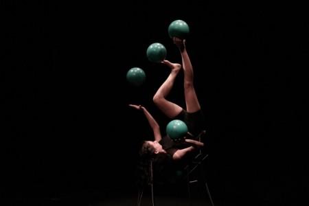 Val Jauregui - Foot Juggler