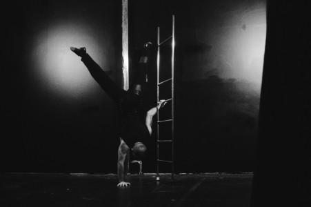 Aereal straps, FreeStanding Ladder - Aerialist / Acrobat