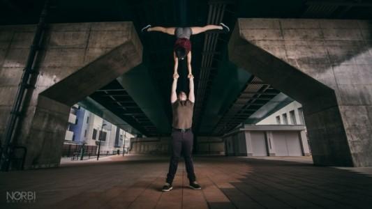 Arisa & Norbi - Acrobalance / Adagio / Hand to Hand Act