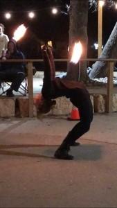 Ember's Fire Spinning  - Fire Performer