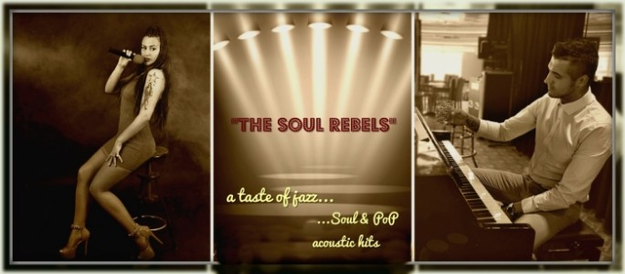 Sandy and The Soul Rebel (piano or with guitar DUO) - Female Singer
