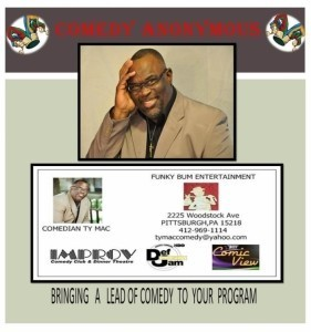 Comedian Ty Mac - Adult Stand Up Comedian