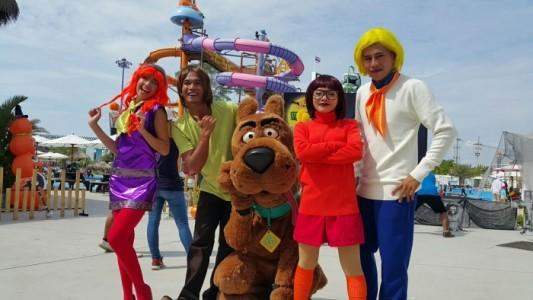 Dancer,costume character performer,led poi dancer - Costumed Character