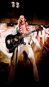 Mike Memphis as Elvis image