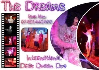 The Dreams' International Drag Queens Duo - Kay Wye & Ida Slapter - Drag Queen Act