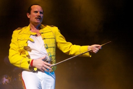 Joseph Lee Jackson as A Vision of Mercury - Freddie Mercury Tribute Act