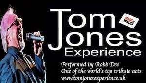 Robb Dee - One of the worlds top Tom Jones Tributes - Tom Jones Tribute Act