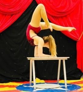 Girl in the bottle - Contortionist